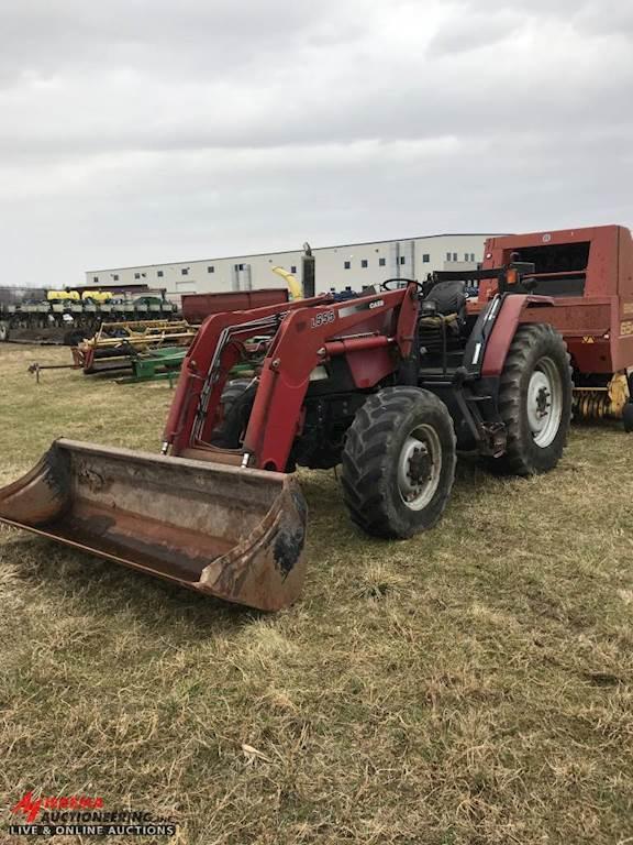 Loader Tractor For Sale : loader, tractor, TRACTOR, LOADER, Wayland,, BURNIPS--129, MyLittleSalesman.com