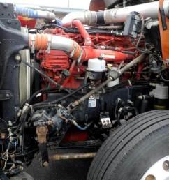 2013 kenworth t800 tandem axle cab chassis truck cummins isx 600hp 18 [ 1024 x 768 Pixel ]