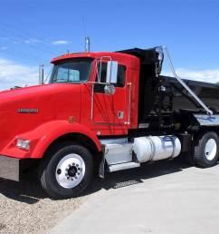 2000 kenworth t800 dump truck [ 1024 x 768 Pixel ]