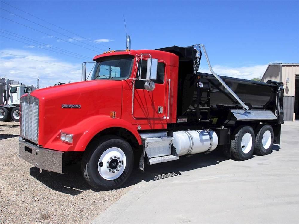 medium resolution of 2000 kenworth t800 dump truck