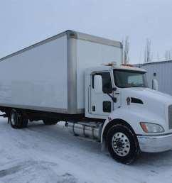 2010 kenworth t370 box truck dry van for sale 243 000 miles rigby id 8981676 [ 1024 x 768 Pixel ]