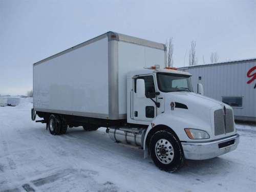 small resolution of 2010 kenworth t370 box truck dry van for sale 243 000 miles rigby id 8981676