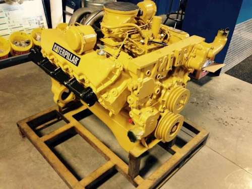small resolution of caterpillar 3208t engine