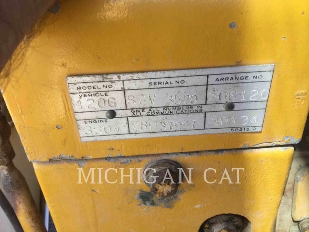 medium resolution of 1978 caterpillar 120g motor grader