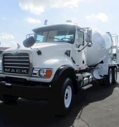 2006 mack granite cv713 mixer ready mix concrete truck [ 1024 x 768 Pixel ]