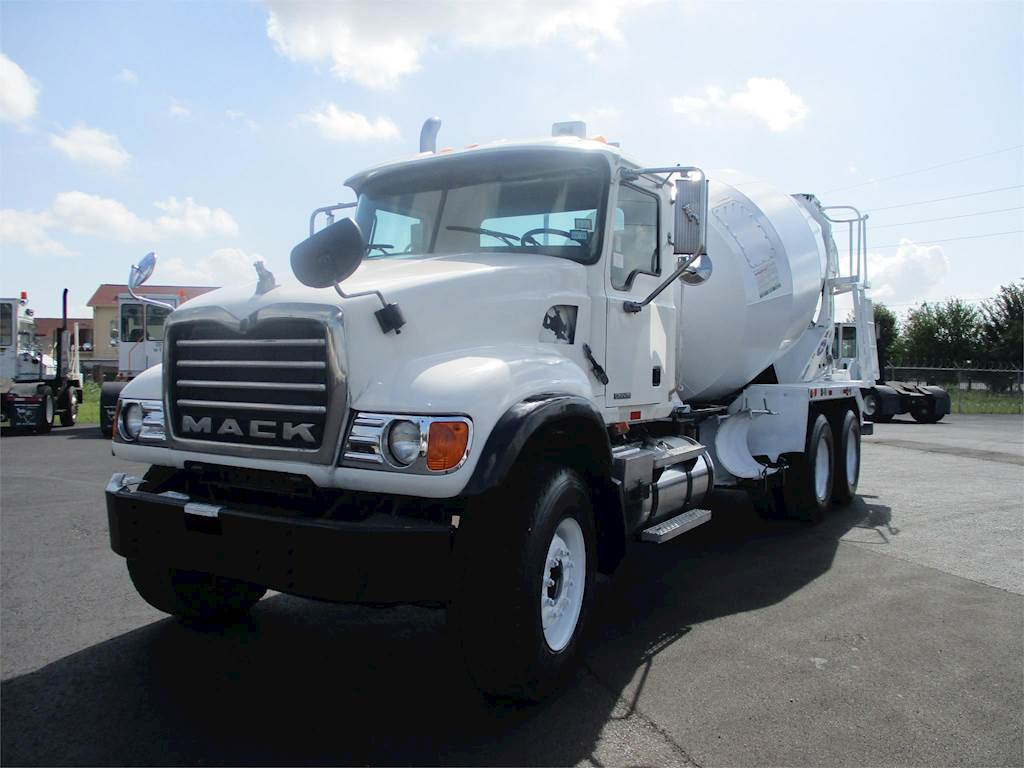 hight resolution of 2006 mack granite cv713 mixer ready mix concrete truck