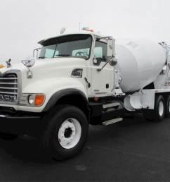 2007 mack granite cv713 mixer ready mix concrete truck [ 1024 x 768 Pixel ]