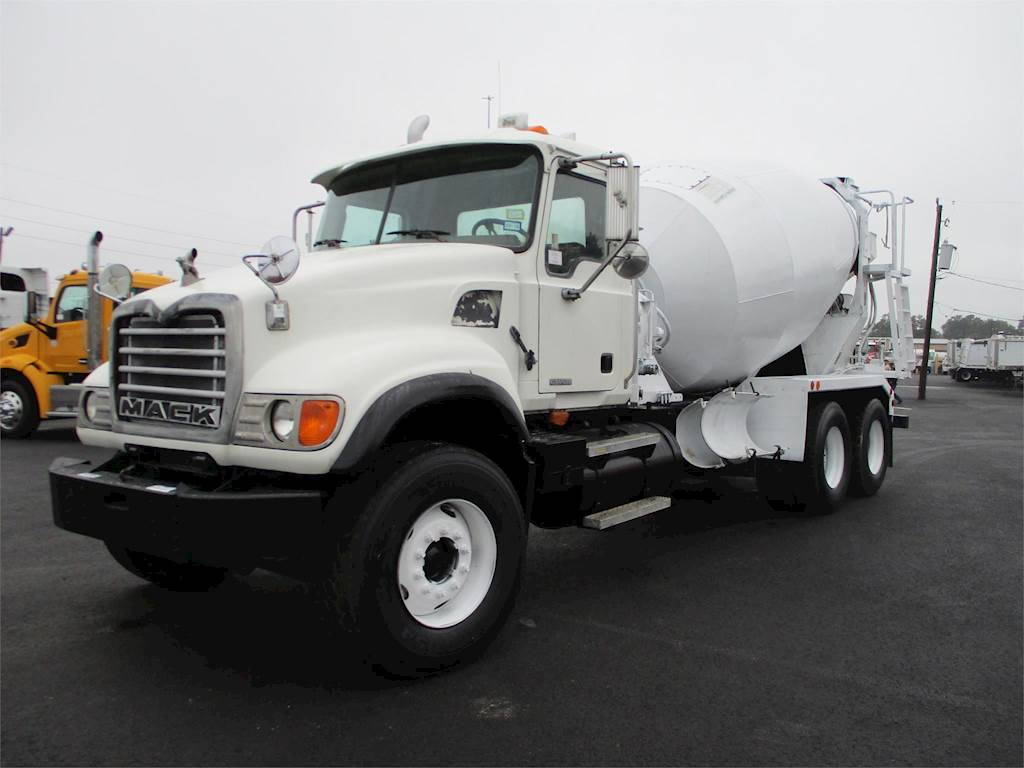 hight resolution of 2007 mack granite cv713 mixer ready mix concrete truck
