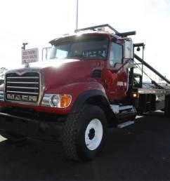 2006 mack granite cv713 tandem axle oil field truck ai 460hp [ 1024 x 768 Pixel ]