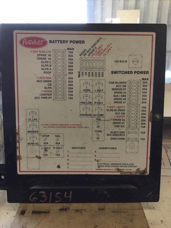 wiring peterbilt 379 fuse panel diagram hd quality