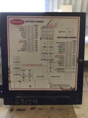 2005 Peterbilt 379 Fuse Box For Sale | Jackson, MN | 63154