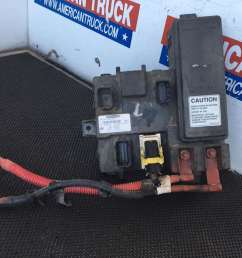 used cab ecu with fuse box for 2014 freightliner cascadia [ 1024 x 768 Pixel ]