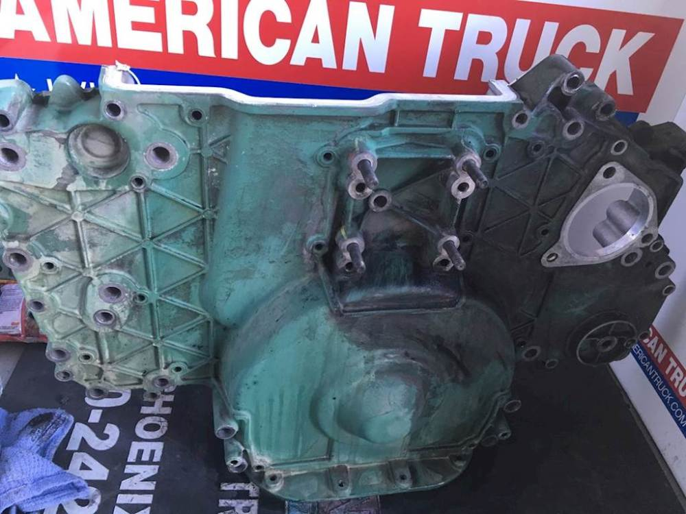 medium resolution of used timing gear cover for a volvo d12 engine for sale phoenix az volvo d12 engine wiring diagram volvo d12a engine diagram