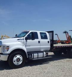 2018 ford f 750 flatbed truck for sale 414 miles morris il [ 1024 x 768 Pixel ]