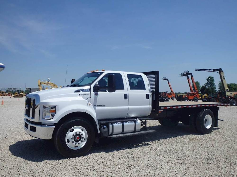 medium resolution of 2018 ford f 750 flatbed truck for sale 414 miles morris il