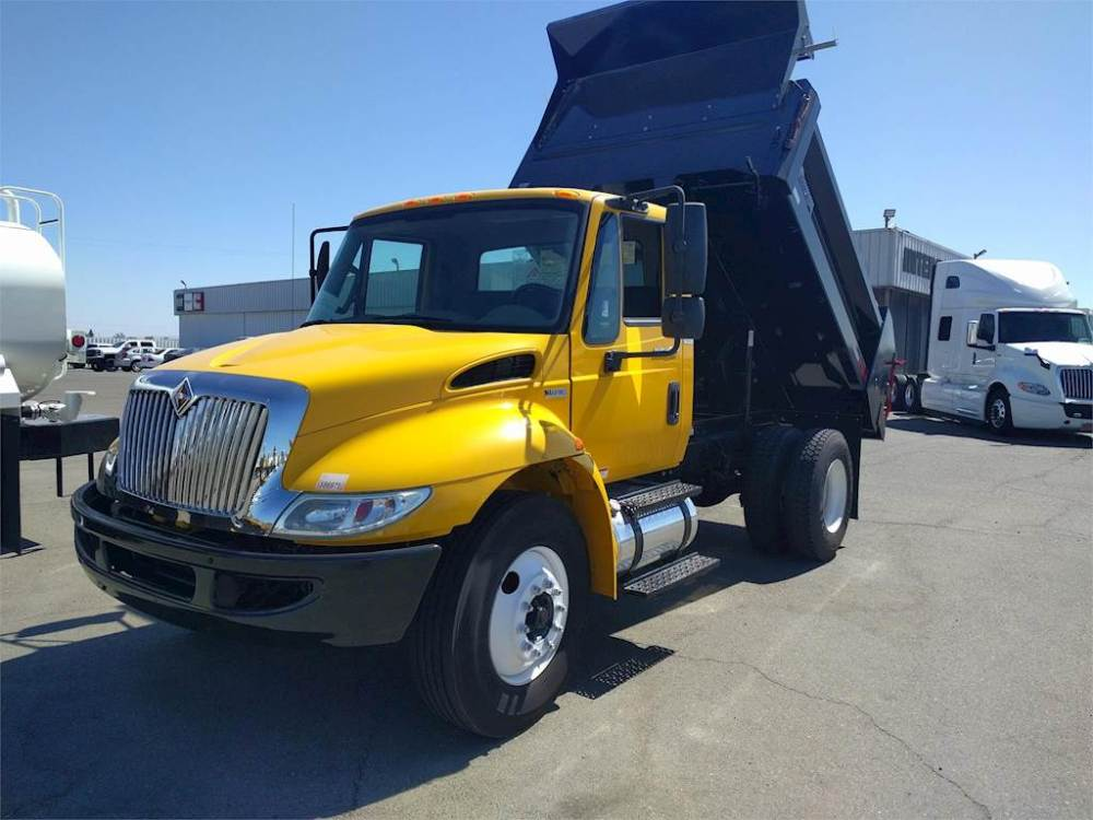 medium resolution of 2014 international 4300 single axle dump truck dt466 215hp automatic for sale 159 000 miles santa maria ca d6130 mylittlesalesman com