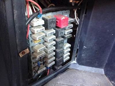 peterbilt fuse panel diagram carrier infinity furnace wiring boxes panels for sale mylittlesalesman com 1997 330 box