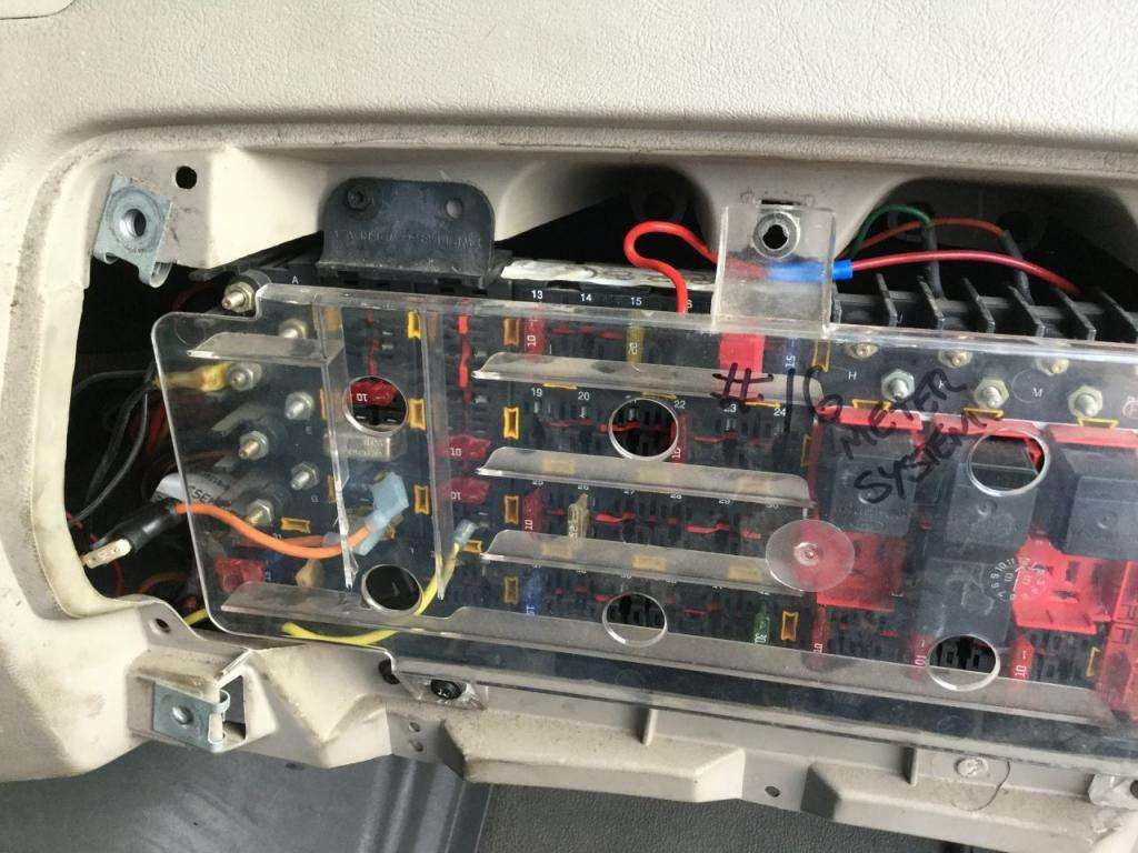 Sterling Truck Fuse Box Diagram