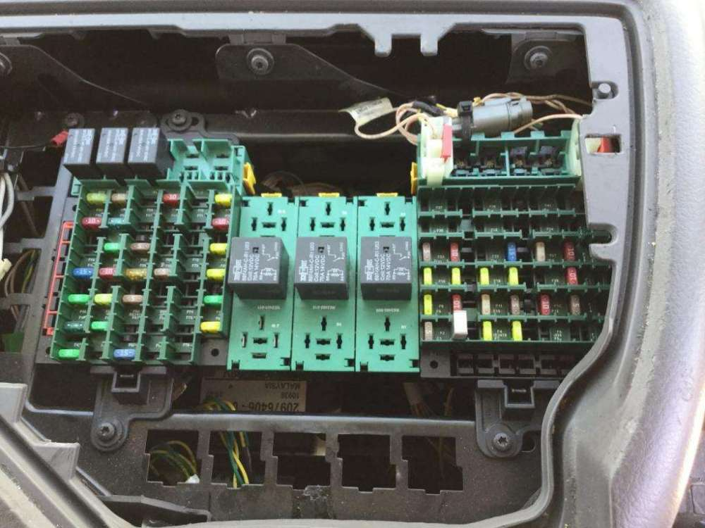 medium resolution of volvo fuse box location wiring diagram origin mitsubishi forklift fuse box location location fuse box volvo ec55c