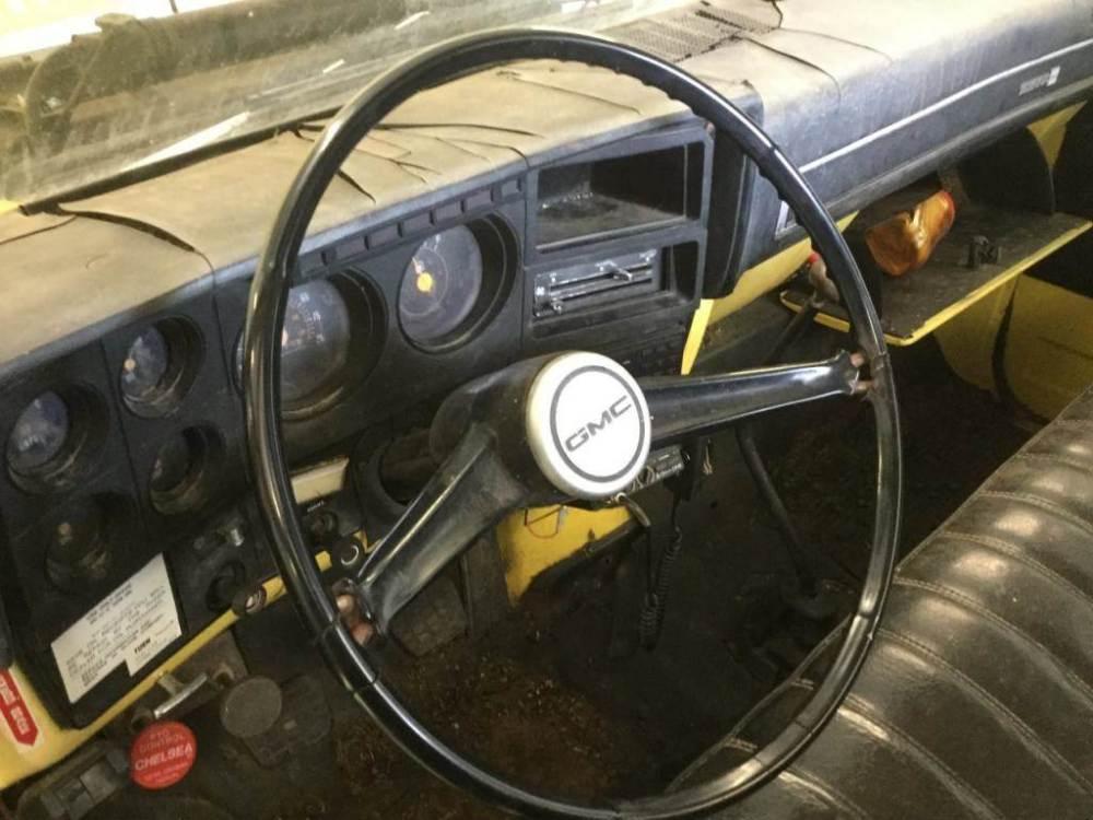 medium resolution of 1982 gmc 6000 steering column