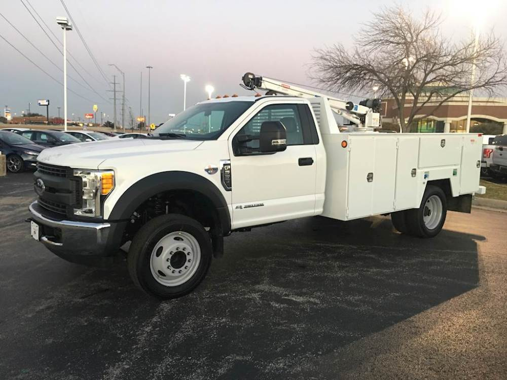 medium resolution of 2018 ford f 550 xl mechanics service truck and crane