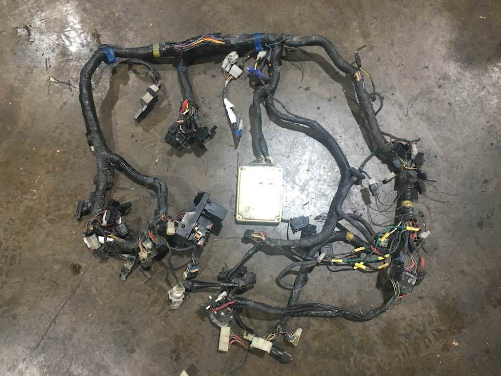 medium resolution of 1991 mitsubishi fuso diesel engine cab to ecm wireharness for mitsubishi engine wiring harness
