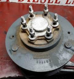 detroit series 50 engine horton drive fan clutch assembly oem part 601158 601152 [ 1024 x 768 Pixel ]