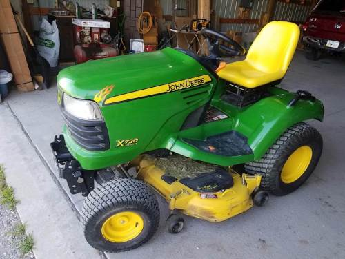 small resolution of 2008 john deere x720 riding lawn mower