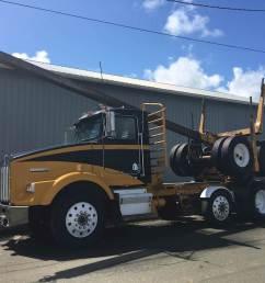 1988 kenworth t800 logging truck [ 1024 x 768 Pixel ]