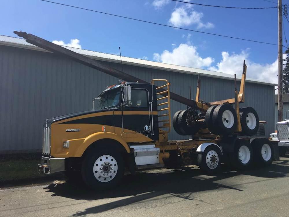 medium resolution of 1988 kenworth t800 logging truck