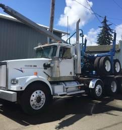 1992 western star 4964f logging truck [ 1024 x 768 Pixel ]