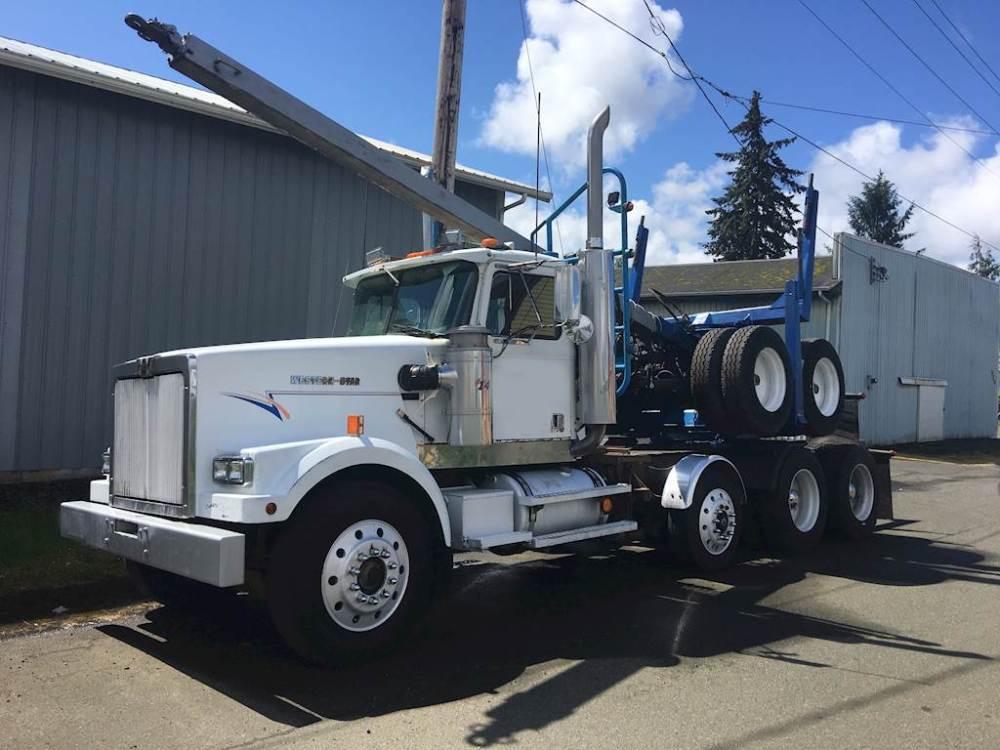 medium resolution of 1992 western star 4964f logging truck