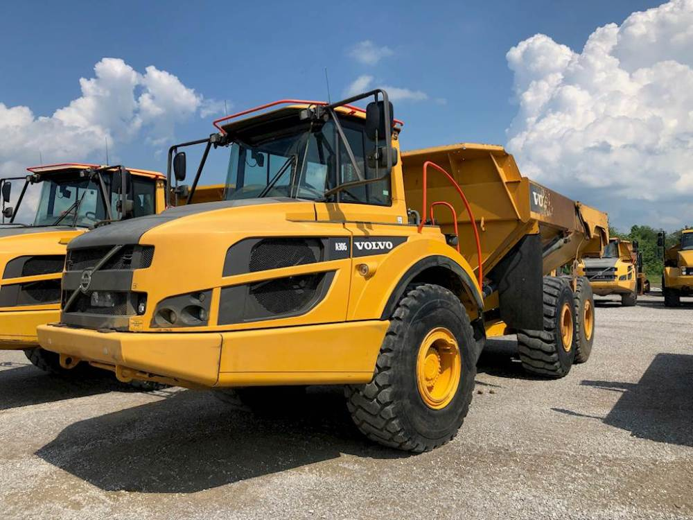 medium resolution of volvo a30g articulated truck
