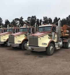 2009 kenworth t800 logging truck [ 1024 x 768 Pixel ]