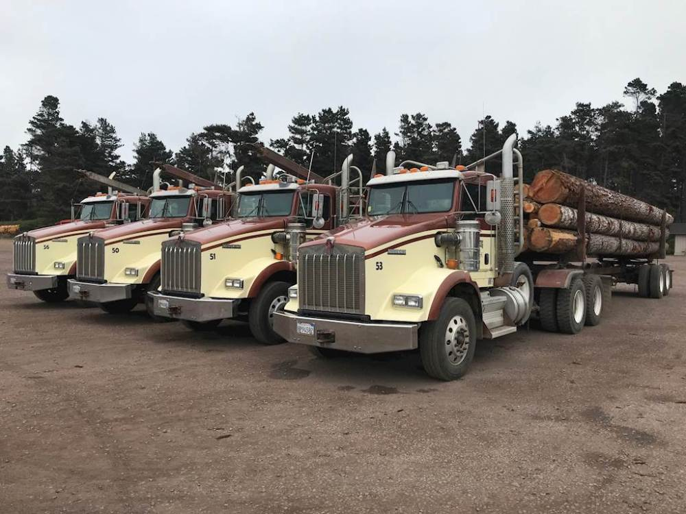 medium resolution of 2009 kenworth t800 logging truck
