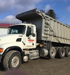 2005 mack granite cv713 tri axle dump truck 460hp 18 spd [ 1024 x 768 Pixel ]