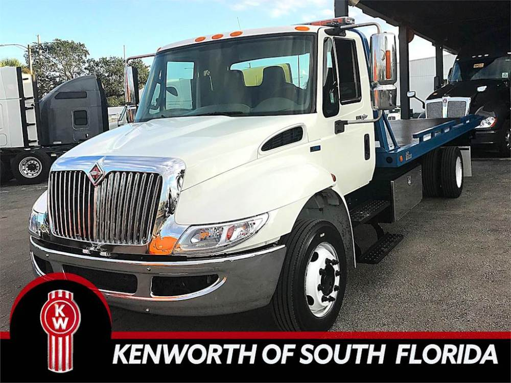 medium resolution of 2012 international 4300 single axle rollback truck dt466 automatic