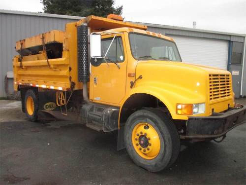 small resolution of 1995 international 4900 single axle dump truck in line 6 230hp manual