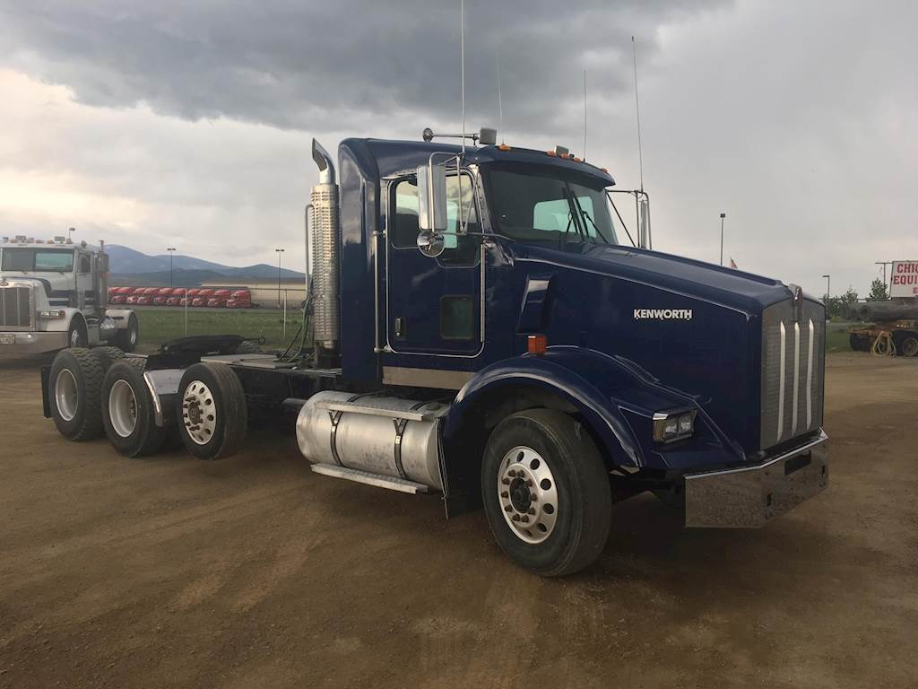 hight resolution of 2006 kenworth t800b tri axle day cab truck caterpillar c15 acert 475hp manual