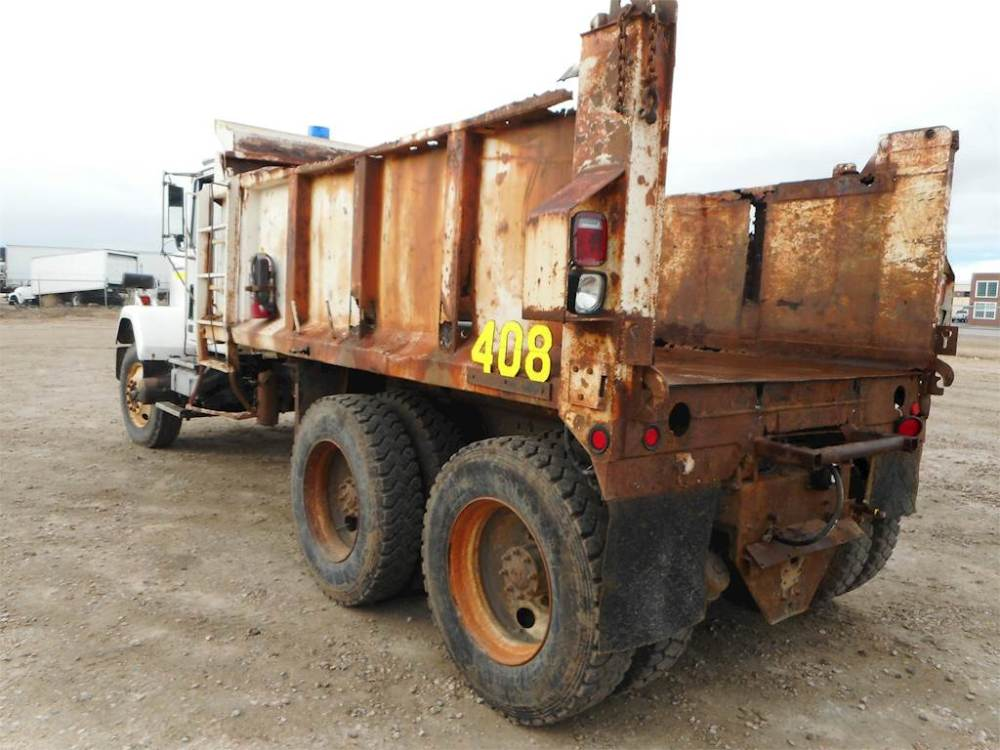 medium resolution of 1985 gmc general tandem axle dump truck cummins ntc400bc3 400hp manual