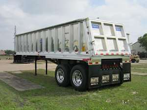 dump trailers for sale 2002 f150 wiring diagram 2018 mate 30ft semi frameless tandem end trailer