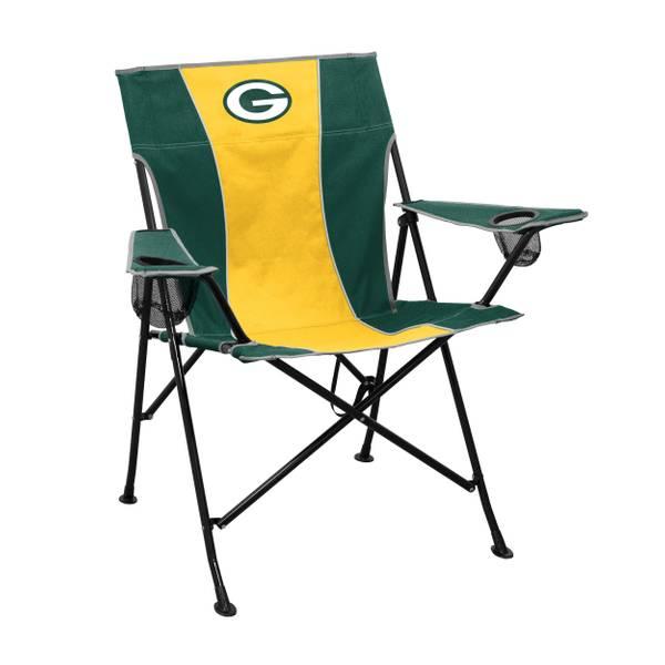 green bay packers chair cute beach chairs logo pregame