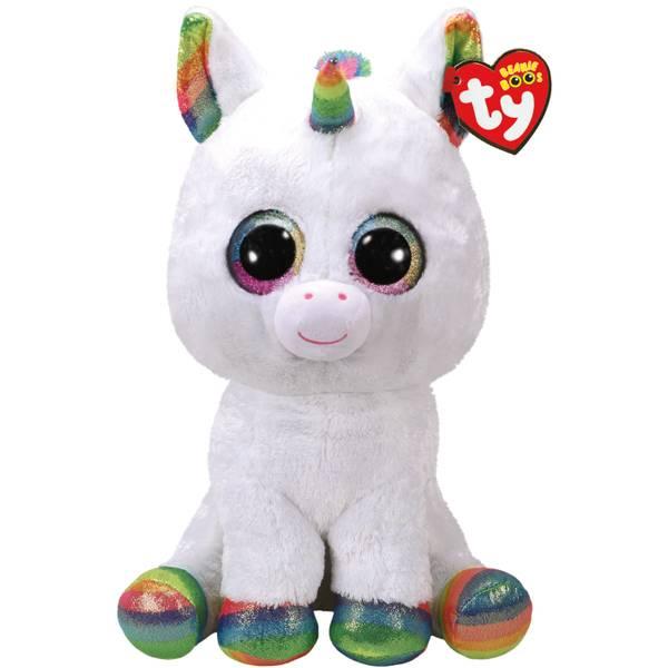 Ty Beanie Boo Large Pixy The White Unicorn