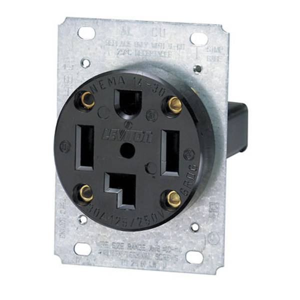 30a 250v Wiring Diagram Leviton 3 Pole 4 Wire Flush Mount Receptacle