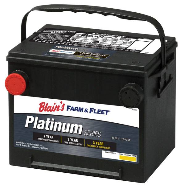 blain\u0027s farm fleet 7-year platinum automotive battery - 2013 toyota  tundra battery