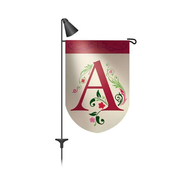Evergreen Enterprises Garden Flag Pole Solar Spotlight