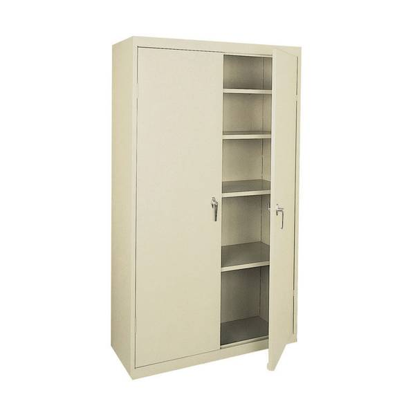 Sandusky Lee Four Shelf Steel Storage Cabinet
