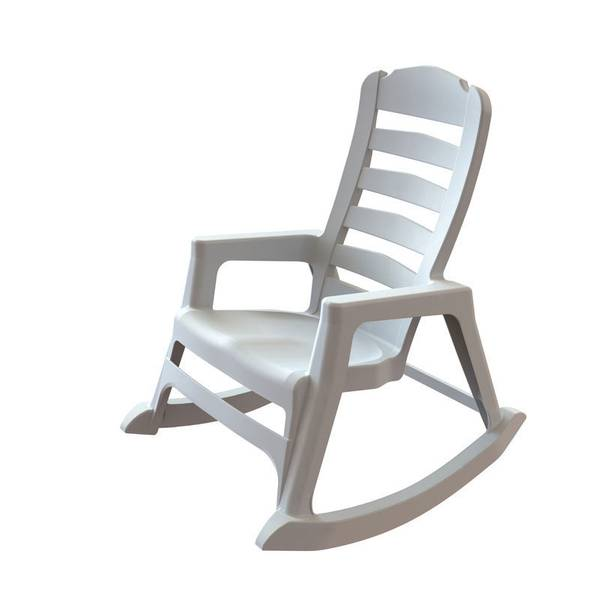 Adams Manufacturing Resin Rocking Chair
