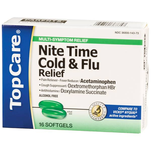 Top Care Nite Time Cold Flu Relief