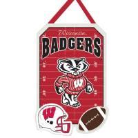 Team Sports America Wisconsin Badgers Door Decor